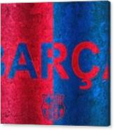 Barcelona Football Club Poster Canvas Print