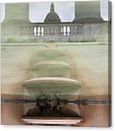 Barcelona Fountain Canvas Print