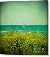 Barcelona  Gava Beach  Canvas Print