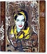 Barcelona Graffiti 3 Canvas Print