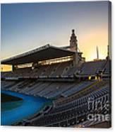 Barcelona Olympic Stadium Canvas Print