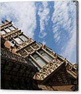 Barcelona's Marvelous Architecture - Avenue Diagonal Facade Canvas Print