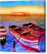 Barche Canvas Print