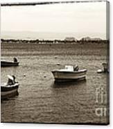 Barcos Canvas Print