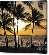 Barefoot In The Park Canvas Print