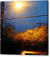 Barksdale Blue And Yellow  Canvas Print