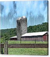 Barn 28 - Featured In Old Buildings And Ruins Group Canvas Print