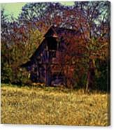 Barn And Diamond Reo-featured In Barns Big And Small Group Canvas Print