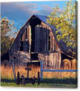 Barn At Ash Flat Arkansas Canvas Print
