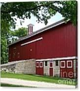 Barn At Greene Valley Canvas Print