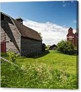 Barn Days Of Old Canvas Print