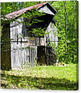 Barn From The Forgotten Farm 3 Canvas Print