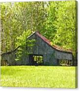 Barn From The Forgotten Farm Canvas Print