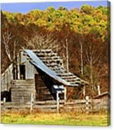 Barn In Fall Canvas Print