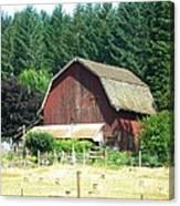 Barn In Summer Canvas Print