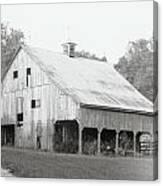 Barn Missouri Bottomlands Canvas Print