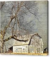 Barn - Missouri's Backroads Canvas Print