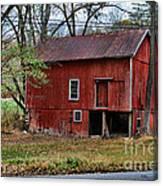 Barn - Seen Better Days Canvas Print