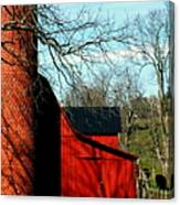 Barn Shadows Canvas Print