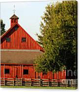 Barn South-3586 Canvas Print
