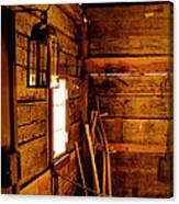 Barn Tools Canvas Print