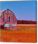 Barn Van Dyke Canvas Print