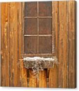 Barn Window 3348 Canvas Print
