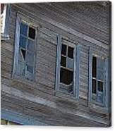 Barn Windows Canvas Print