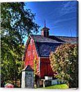 Barn With Out-sheds Brunner Family Farm Canvas Print