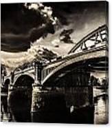 Barnes Rail Bridge Canvas Print