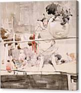 Barnet Fair Canvas Print