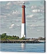 Barngat Lighthouse - Long Beach Island Nj Canvas Print