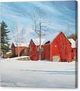 Barns At Bezalel Gables Canvas Print