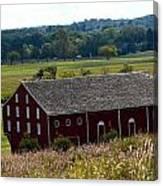 Barns Of Gettysburg 1a Canvas Print