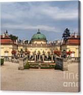 Baroque Landmark - Buchlovice Castle Canvas Print