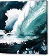 Barreling Storm Canvas Print