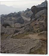 Barren Landscape South Of Qobustan Canvas Print