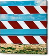 Barrier Canvas Print