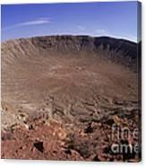 Barringer Crater, Fisheye View Canvas Print