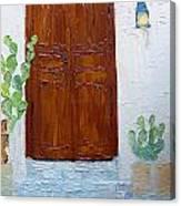 Barrio Doorway Canvas Print