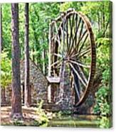 Berry College's Old Mill - Square Canvas Print