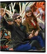Barry Zito World Series 2012 Canvas Print