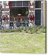 Bartok Park In The Center Of Arnhem Canvas Print