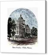 Barton Academy - Mobile Alabama Canvas Print