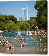 Barton Springs Pool Canvas Print