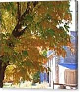 Bartram Orange Canvas Print