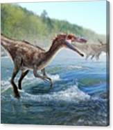 Baryonyx Dinosaur Canvas Print
