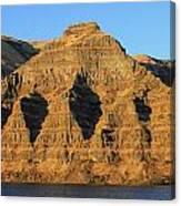Basalt Group Layers Canvas Print