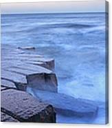 Basalt Rock, Berwick Upon Tweed Canvas Print