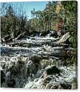 Base Of Ragged Falls Canvas Print